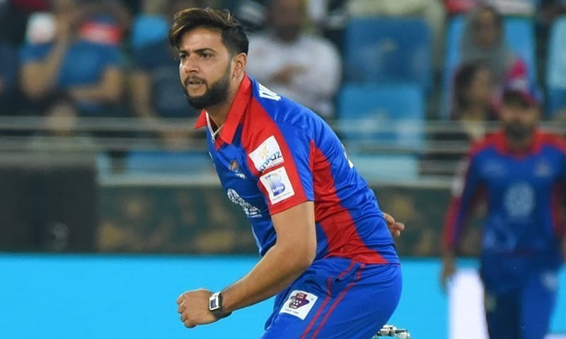 """""""Probably in hindsight, I would say that we were at least 15 to 20 runs short of setting a reasonable chase for [Peshawar Zalmi] in high pressure situation,"""" said Imad Wasim. — Dawn/File"""