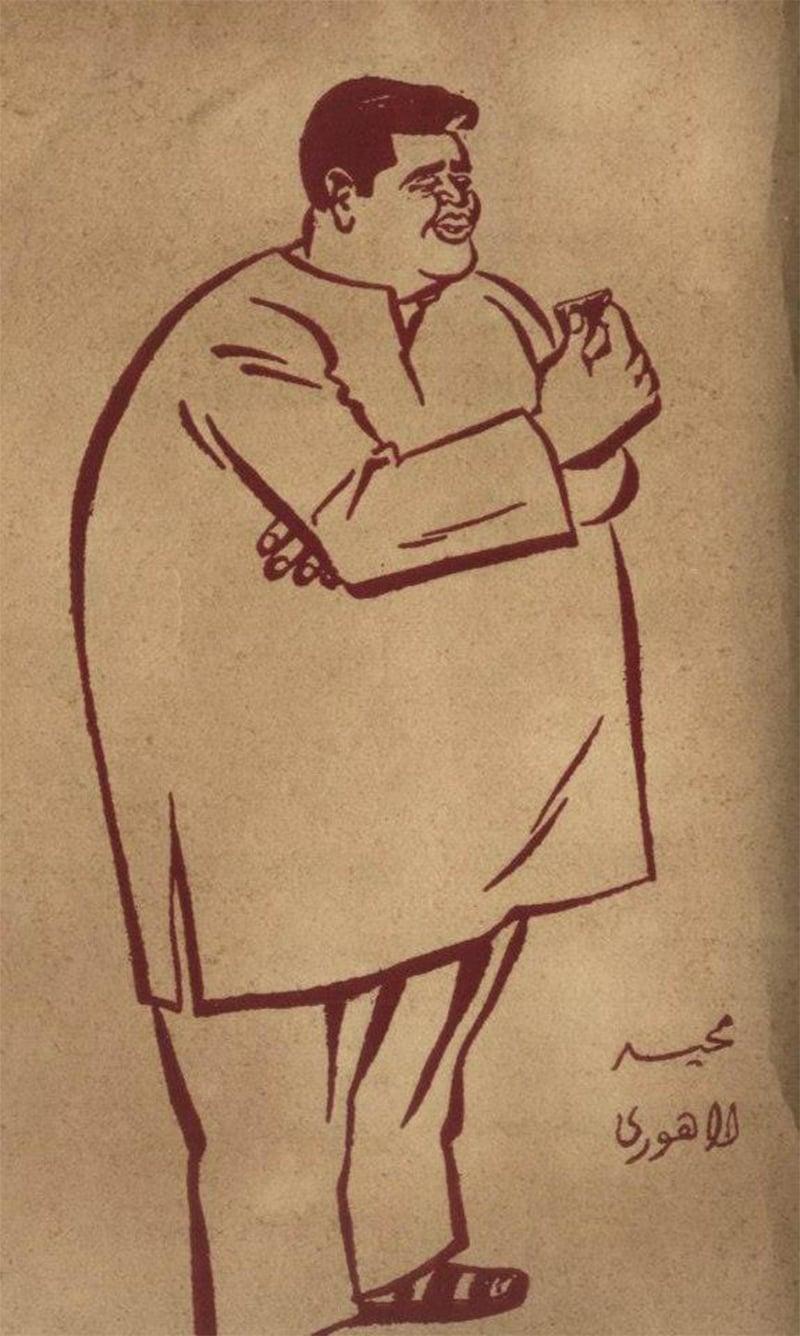 مجید لاہوری لحیم شحیم اور فربہی ڈیل ڈول کے انسان تھے