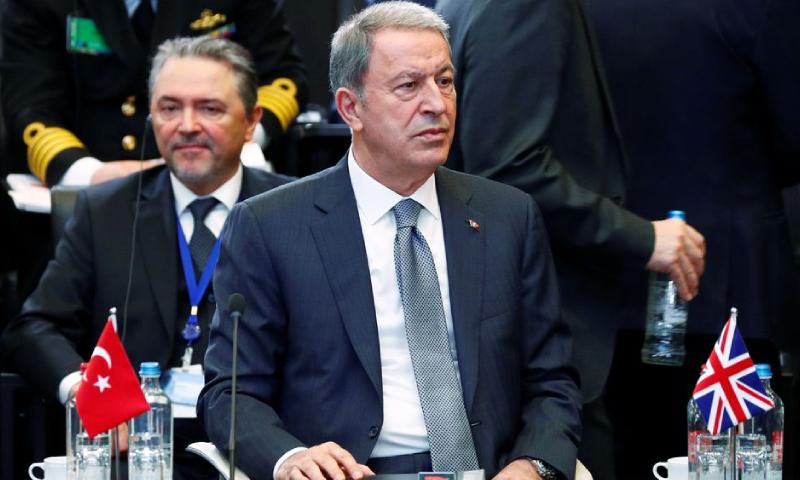 ترک وزیردفاع نے کہا کہ ہماری فوج افغانستان میں موجود ہے—فوٹو: رائٹرز