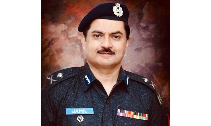 Embattled Hyderabad Region Additional IG Police Dr Jameel Ahmed has made another controversial decision by appointing a DSP to head the defunct CIA centre in Tando Allahyar. — Photo courtesy Dr Jameel Ahmed Twitter