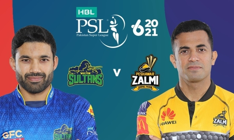 While Multan have never been in the HBL PSL final before this edition, Peshawar had seen it all no less than four times. — Photo courtesy PSL Twitter