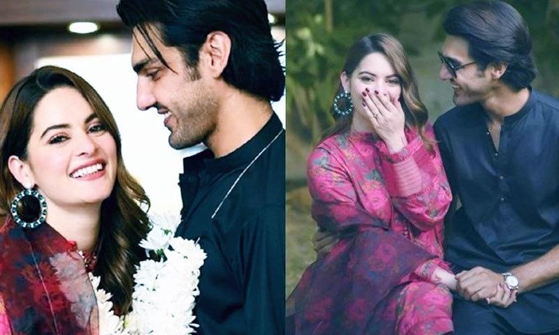دونوں نے 11 جون کو کراچی میں منگنی کی تقریب منعقد کی تھی—فائل فوٹو: انسٹاگرام
