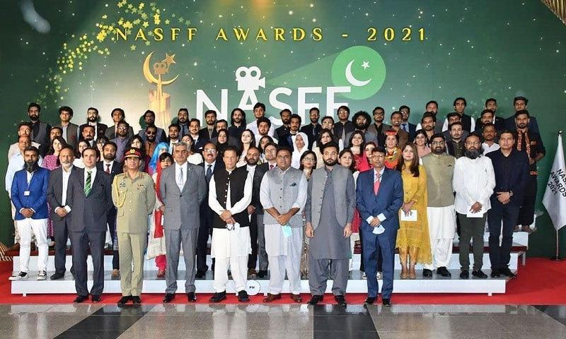پاک فوج کے زیر انتظام فلم فیسٹیول میں 26 فلموں کے لیے ایوارڈز