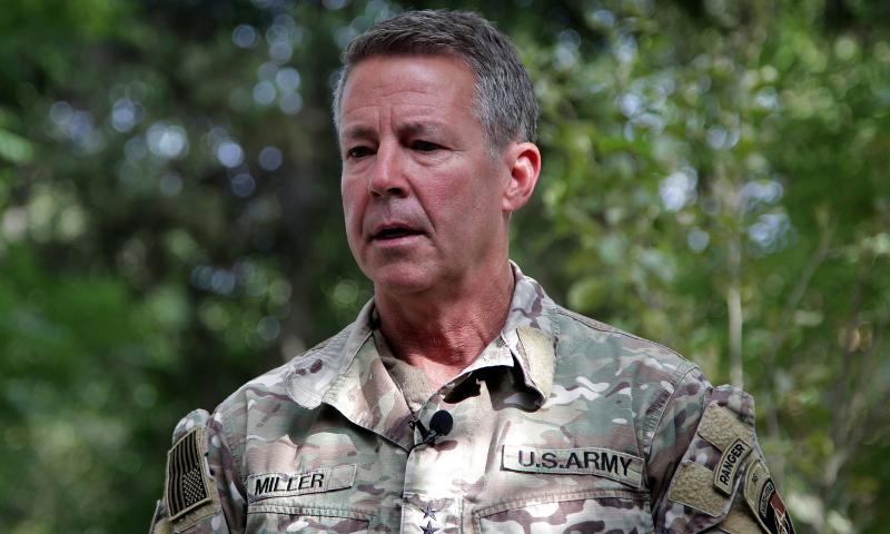 'طالبان نے تشدد اور قبضے کا سلسلہ نہ روکا تو فضائی حملوں کیلئے تیار رہیں'