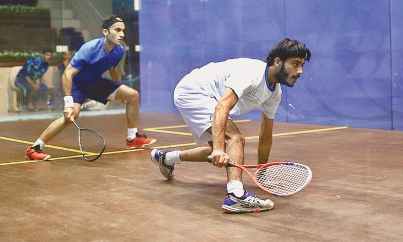 The six-court Squash Complex will be completed at a cost of Rs386 million in two years. — APP/File