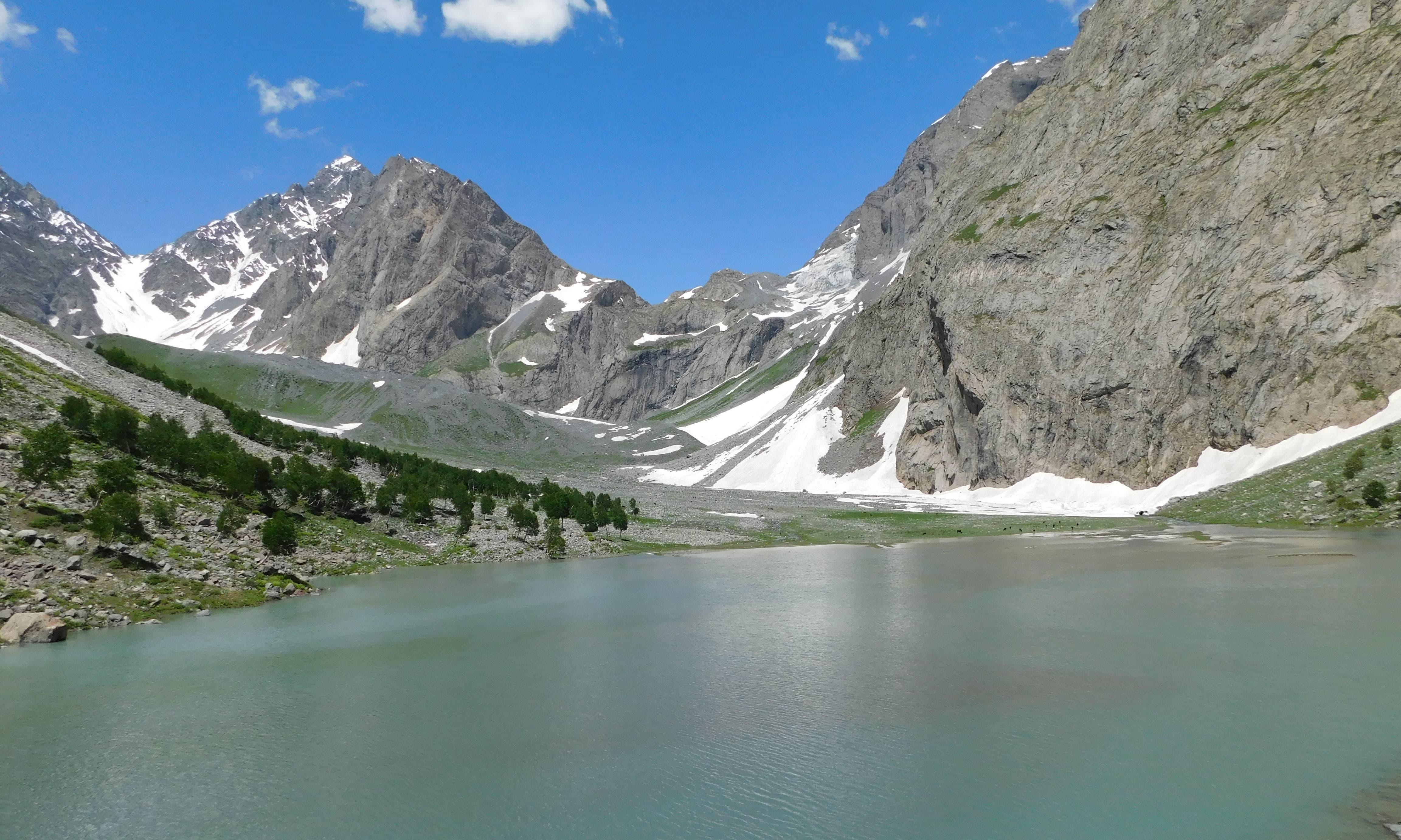 شازور جھیل—تصویر: نعمان اشرف