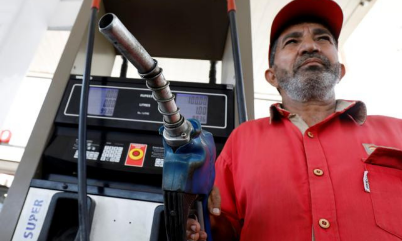 From July 1, the price of petrol will be Rs112.69 per litre and that of high speed diesel will be Rs113.99 per litre. — Reuters/File
