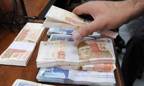 For 2021-22, the government has projected revenue collection target for the FBR at Rs5.829tr. — AFP/File