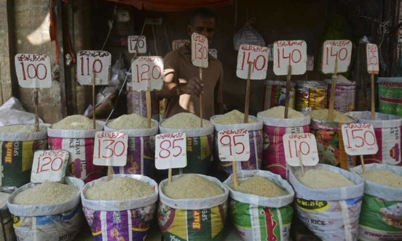 Annual consumer inflation slightly eased to 8.90 per cent during the outgoing fiscal year (FY21) from previous year's 10.74pc. — AFP/File