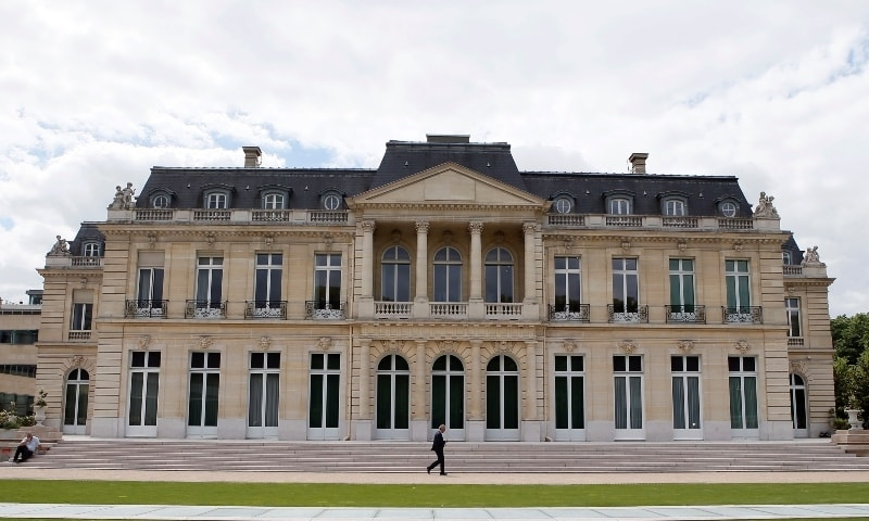 In this file photo, the Organisation for Economic Co-operation and Development (OECD) headquarters is pictured in Paris. — AP