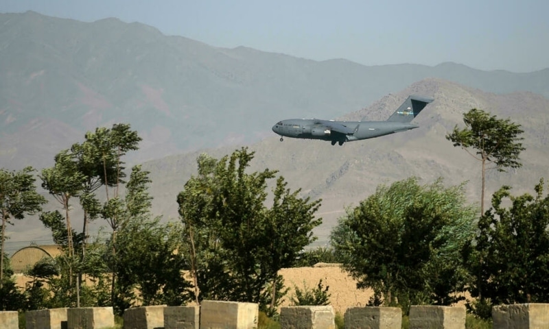 Bagram Air Base served as the linchpin for US operations in Afghanistan. — AFP