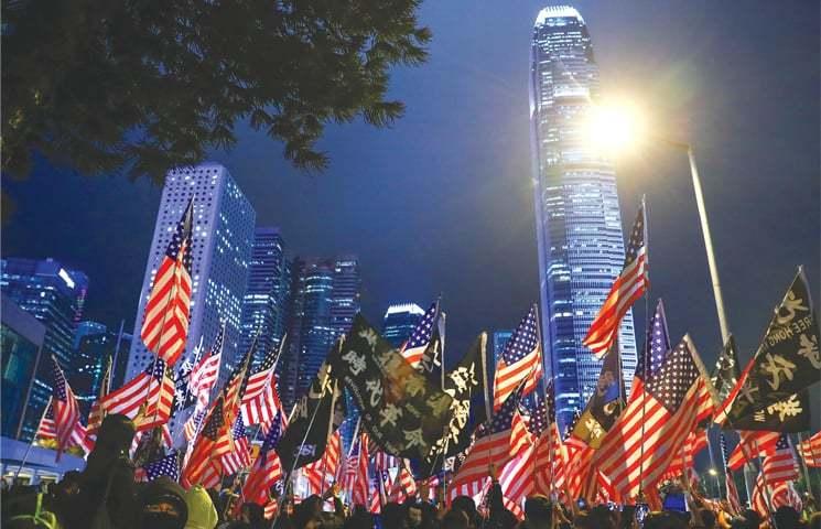 چین کو نقصان پہنچانے کے لیے کیا امریکا ہانگ کانگ کا استعمال کرے گا؟