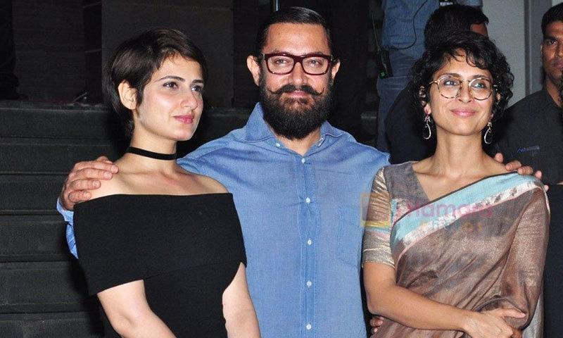 عامر خان اور فاطمہ ثنا شیخ اب تک دو فلموں میں ایک ساتھ کام کر چکے ہیں—فائل فوٹو: انسٹاگرام