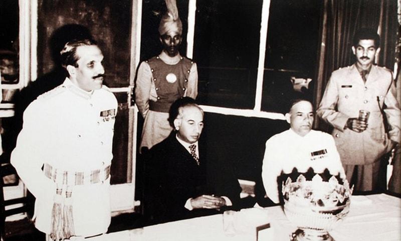 ایک نشست میں جنرل ضیا الحق اور ذوالفقار علی بھٹو ایک ساتھ