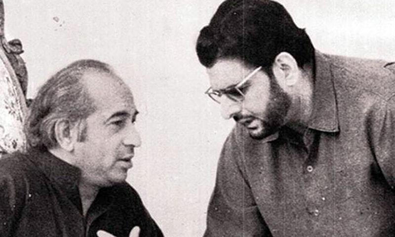 مولانا کوثر نیازی، ذوالفقار علی بھٹو کے ساتھ
