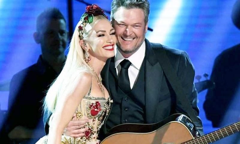 امریکی گلوکار بلیک شیلٹن اور گلوکارہ گوین اسٹیفنی نے شادی کرلی