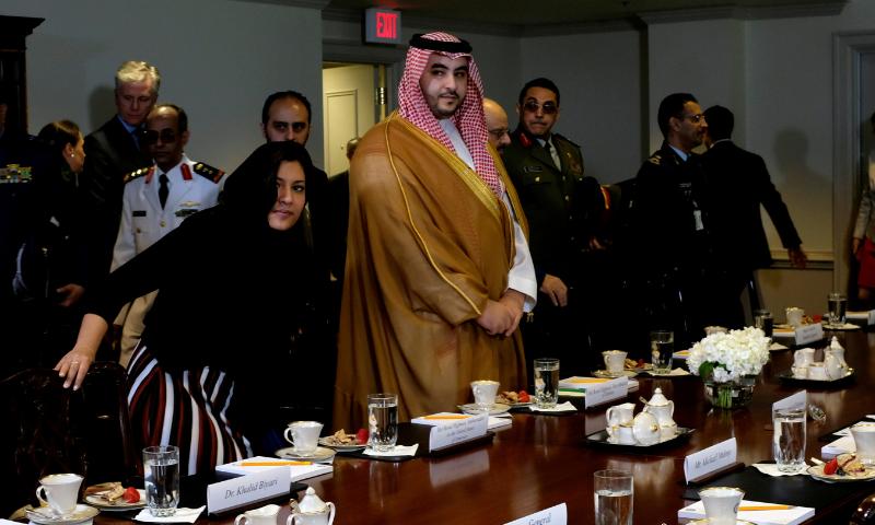 US hosts high-level Saudi visit after Khashoggi killing