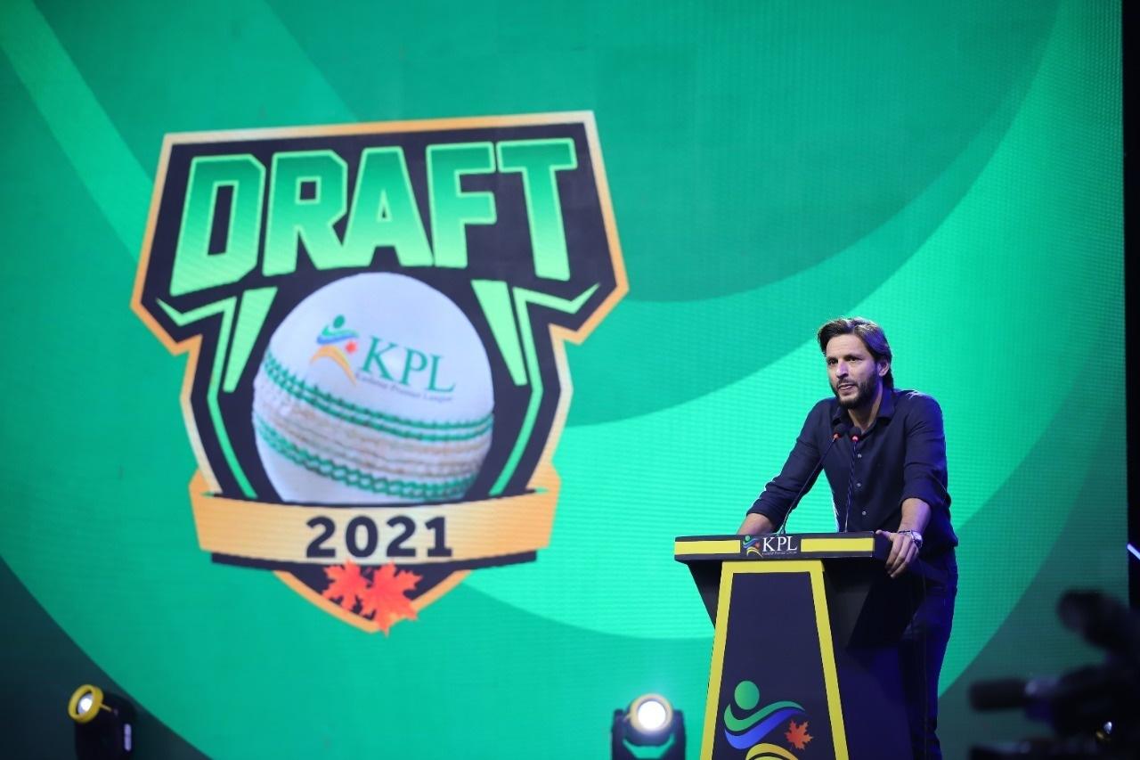 Shahid Afridi, brand ambassador of KPL