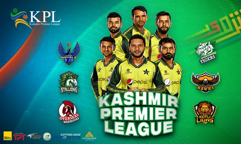 Kashmir Premier League all set to kick off from August 6 - Sponsored -  DAWN.COM