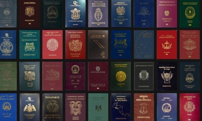 2021 کی دوسری ششماہی کیلئے طاقتور ترین پاسپورٹس کی فہرست جاری