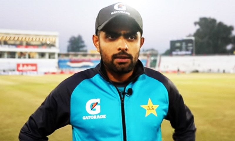 """""""We must understand that these are unprecedented times of Covid-19. We are focusing on cricket and the first game,"""" says Pakistan captain Babar Azam on upcoming England tour. — Photo courtesy of PCB/File"""