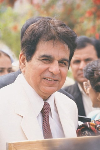 DILIP Kumar in his younger days.