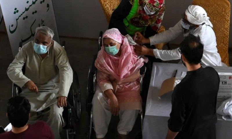 A report of health department said that KP reported 128 new cases of Covid-19 with no death during the last 24 hours. — AFP/File