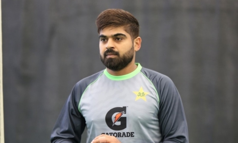 Middle-order batsman Haris Sohail has been ruled out of the England tour due to a hamstring injury. — Photo courtesy PCB