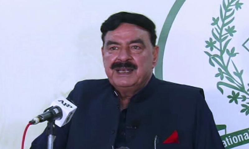 وزیر داخلہ نے امید ظاہر کی ہے کہ تحریک انصاف آزاد جموں کشمیر میں حکومت بنائے گی—فوٹو: ڈان نیوز