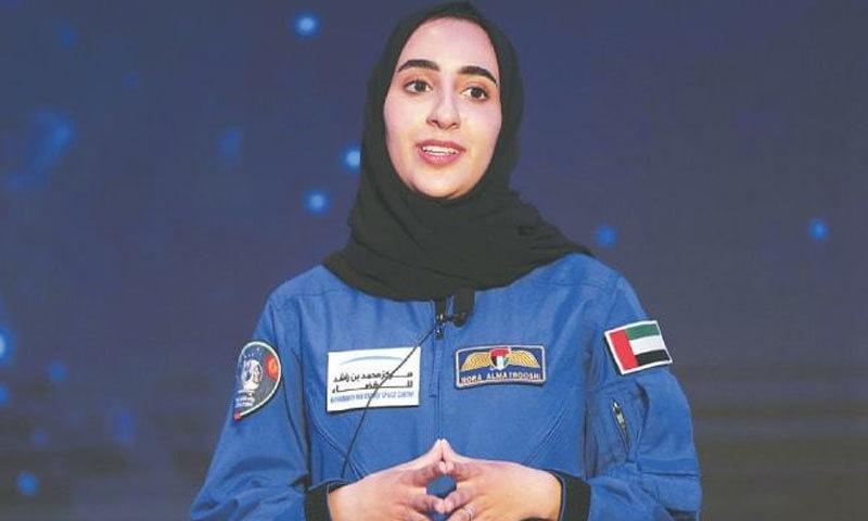 خلابازی کی تربیت حاصل کرنے والی پہلی عرب خاتون