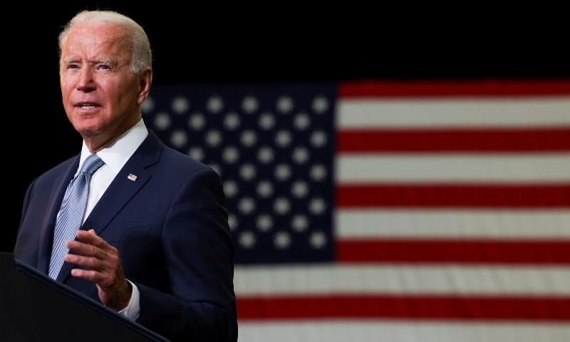 President Joe Biden on Thursday defended his decision to pull US forces out of Afghanistan. — Reuters