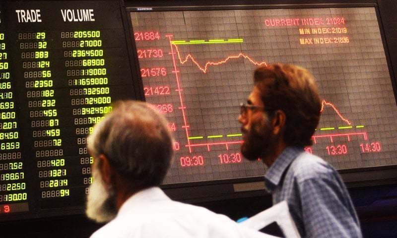 On Friday the market returned to the bearish trajectory with selling pressure seen throughout the day. — AFP/File