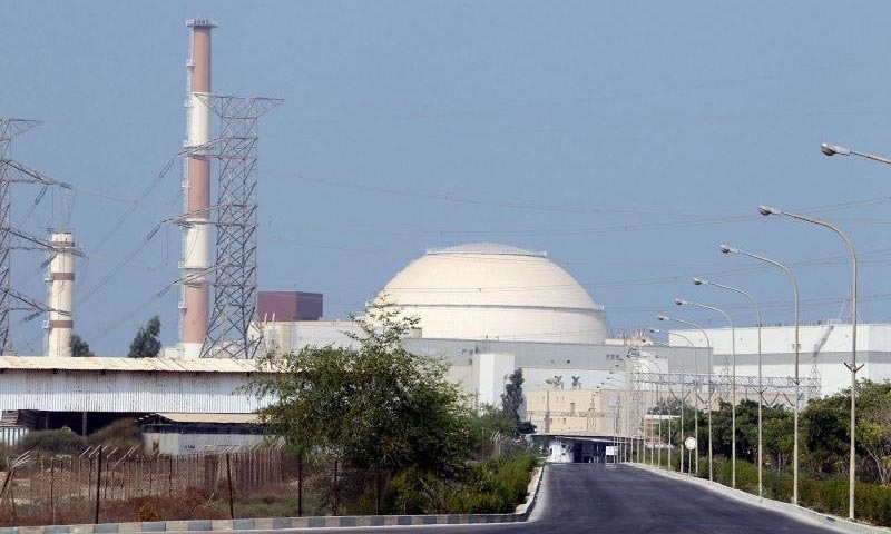 A file view of the reactor building at the Bushehr nuclear power plant in southern Iran. — AFP