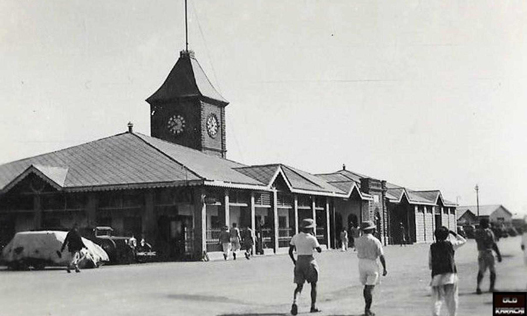 کیماڑی میں واقع پرانا کسٹم ہاؤس