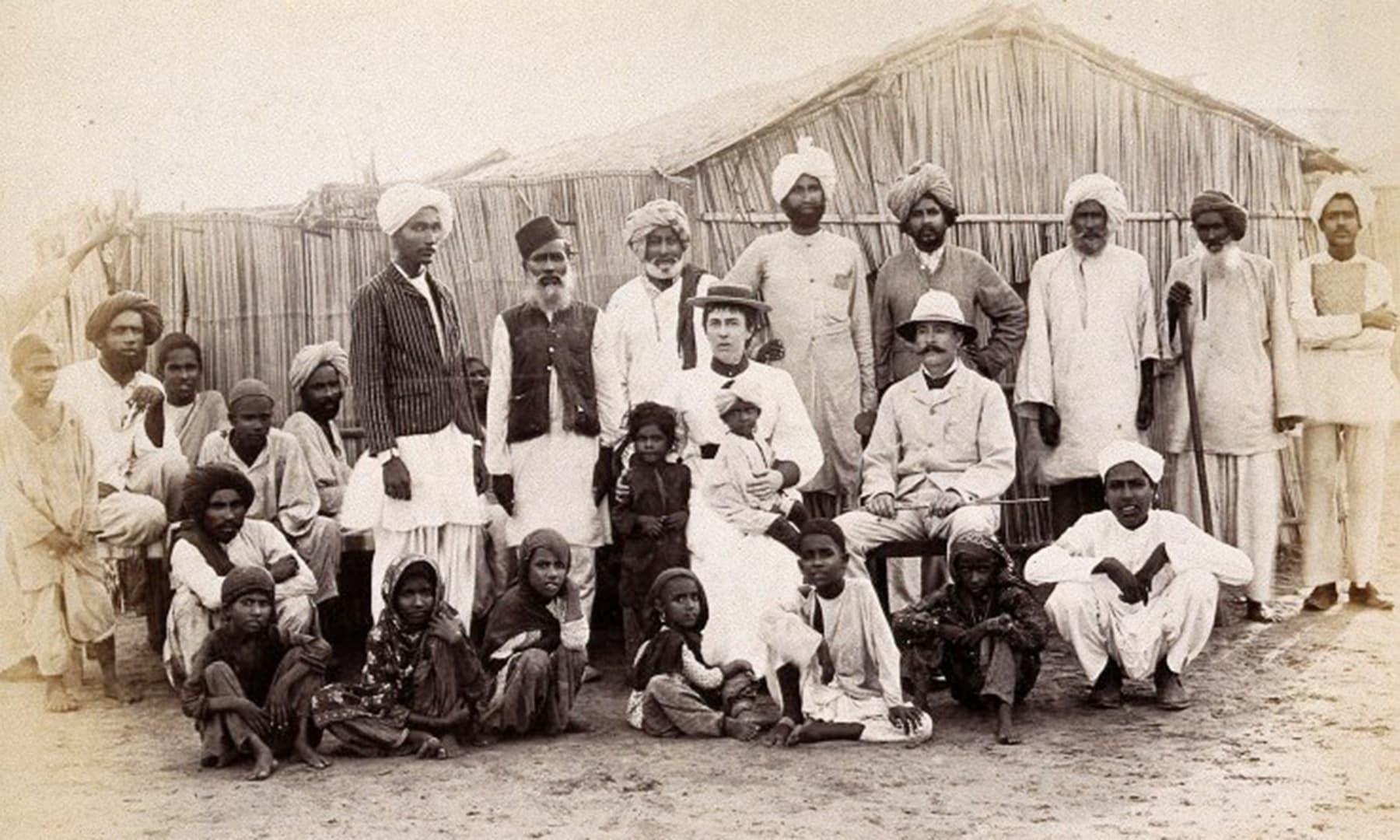 1897ء میں مچھی میانی کی بستی