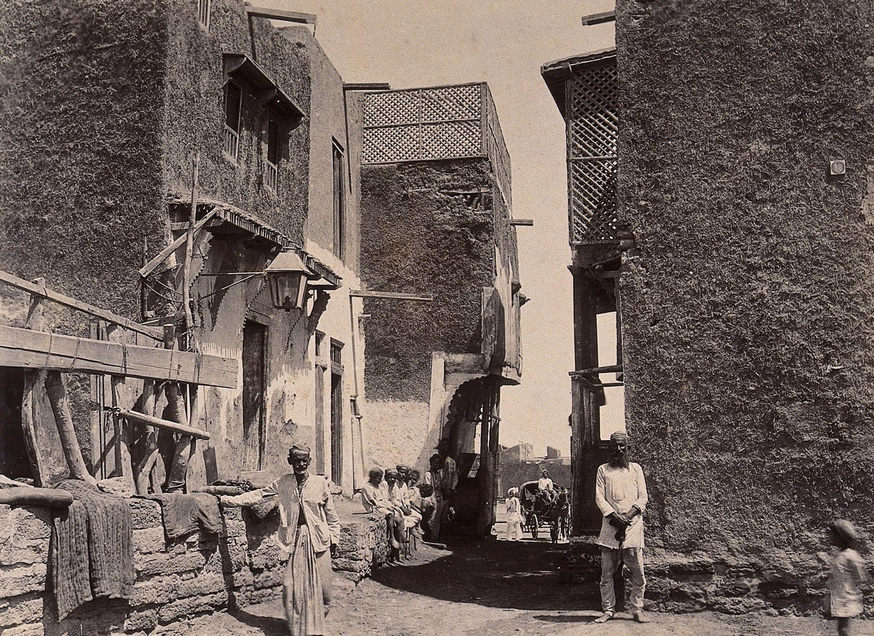 1897ء میں مچھی میانی میں واقع بستی کا ایک منظر