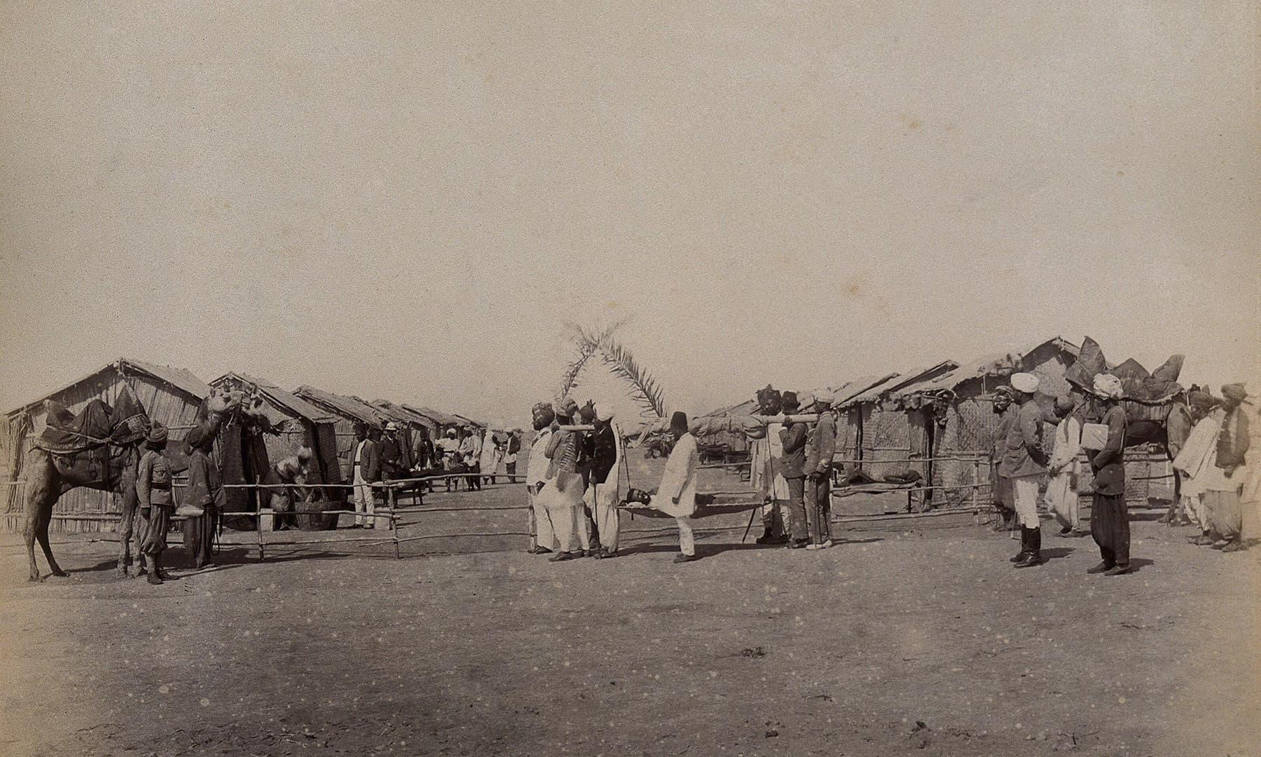 1897ء میں کراچی کی ایک بستی
