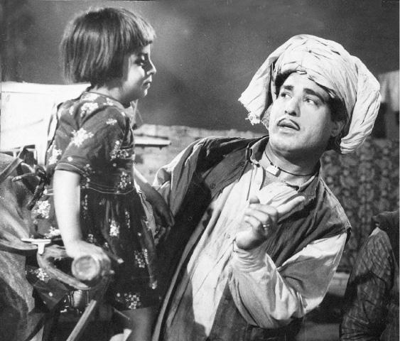 Alauddin in *Badnaam* (1966) - Photos courtesy Guddu Film Archive
