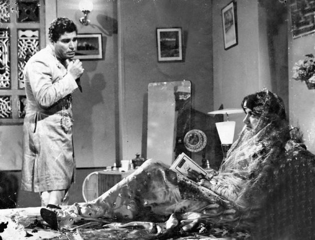 Alauddin in *Mehtaab* (1962) - Photos courtesy Guddu Film Archive