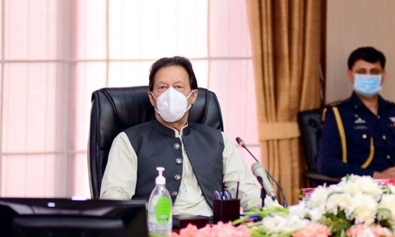 Prime Minister Imran Khan on Sunday took serious notice of the extraordinary protocol accorded to federal cabinet members and VIPs and ordered curtailing it to avoid public inconvenience. — Photo courtesy Radio Pakistan