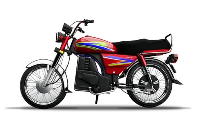 This photo shows Jolta Electric's JE-70D e-bike. — Photo courtesy Jolta Electric website