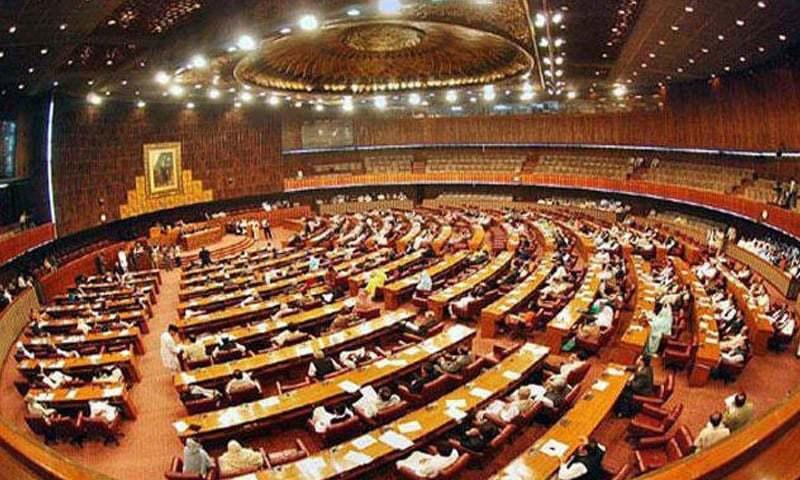 پارلیمنٹ کے احاطے میں کسی قسم کے اسلحے کی اجازت نہیں ہوگی—فائل/فوٹو:ڈان