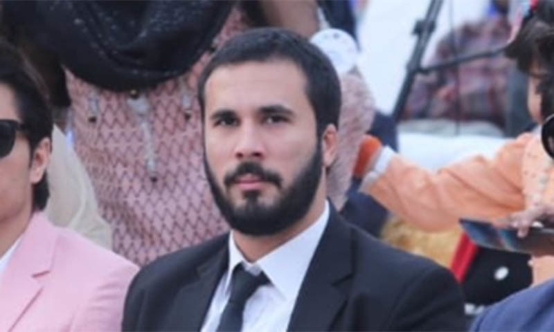 """Hassaan Niazi, nephew of Prime Minister Imran Khan, said """"immense pressure is being built on me to back off from blasphemy case against Shahzawar Bugti."""" — Photo courtesy Hassaan Niazi Twitter/File"""