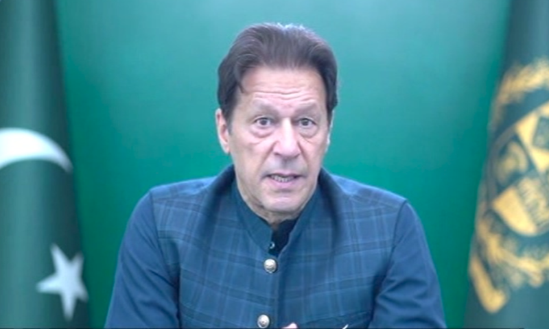 Imran Khan said said universal and affordable access to covid-19 vaccine was essential to defeat the virus and to revive global trade investment and growth. — DawnNewsTV