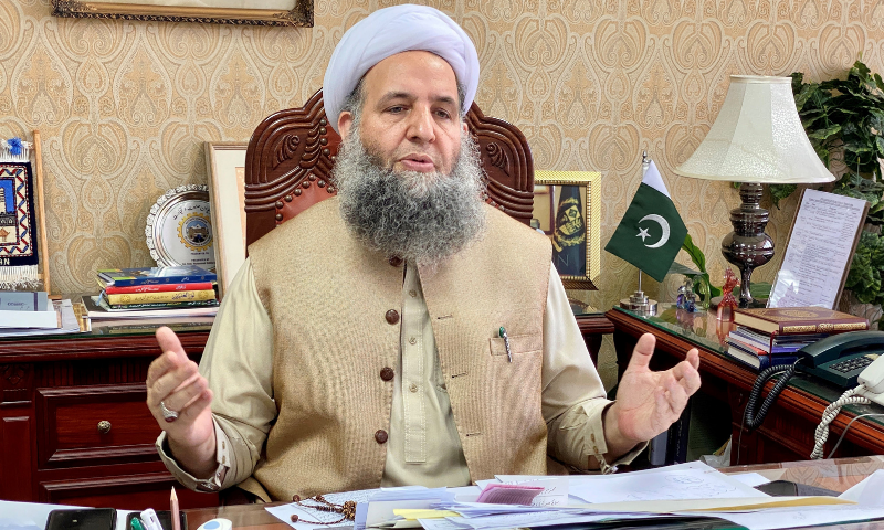 Minister for Religious Affairs Noorul Haq Qadri said that the matter related to setting the minimum age limit for marriage had been sent to the Council of Islamic Ideology (CII). — Photo courtesy Radio Pakistan/File