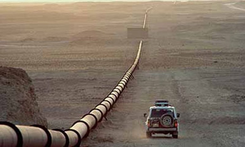 The agreement on construction of 1100-km long north-south gas pipeline was signed by Russia and Pakistan in October 2015. — Reuters/File