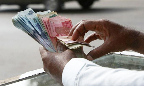 The government accepted Rs94.96bn for three-month T-bills at 7.258pc against the bids of Rs625bn. — AFP/File