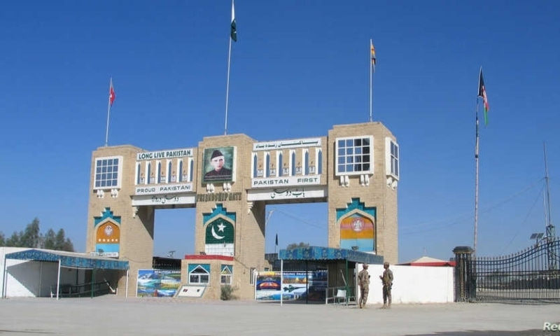 In this file photo, paramilitary soldiers stand by the closed Friendship Gate crossing point at the Pakistan-Afghanistan border town of Chaman. — Reuters