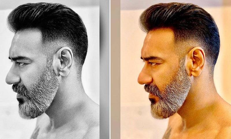 اجے دیوگن کے نئے انداز کو سراہا گیا—فوٹو: انسٹاگرام