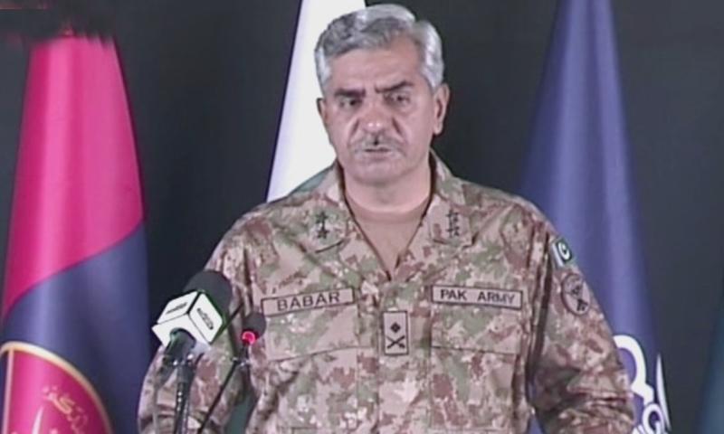 DG ISPR Maj Gen Babar Iftikhar. — DawnNewsTV/File